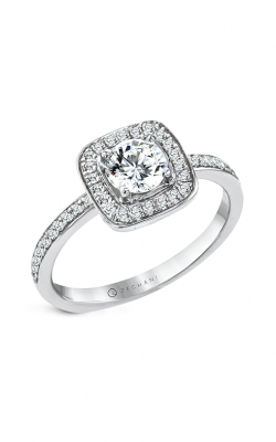 Zeghani The Halo Crown Engagement ring Ngr125 product image