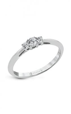 Zeghani Three Stone Trinity Engagement ring Ngr127 product image