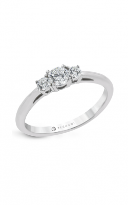 Zeghani Three Stone Trinity Engagement ring Ngr128 product image