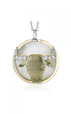 Zeghani Zodiac Signs Constellation Necklace Taurus-y product image