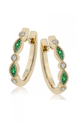 Zeghani Precious Stones Earrings Ze720-y product image