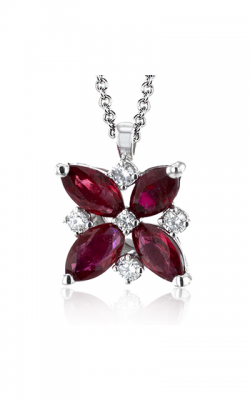 Zeghani Precious Stone Necklace Zp1006 product image