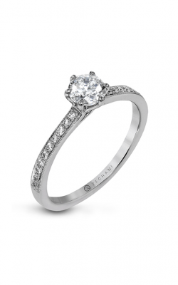 Zeghani Straight Engagement ring Zr1529 product image