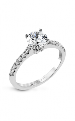 Zeghani Straight Engagement ring Zr1574 product image