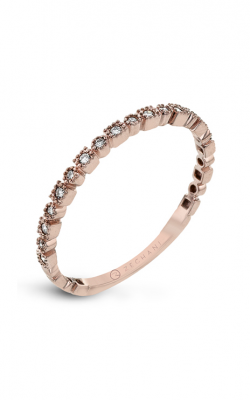 Zeghani The Stack Wedding band Zr1605-r product image