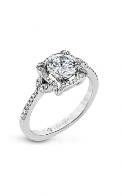 Zeghani The Halo Crown Engagement ring Zr1685 product image