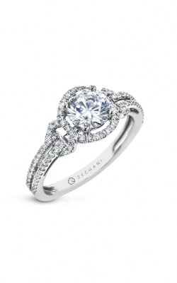 Zeghani The Halo Crown Engagement ring Zr1708 product image