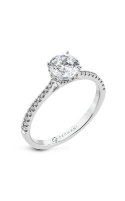 Zeghani Under Halo Engagement ring Zr2317 product image