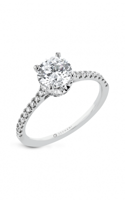 Zeghani The Under Halo Engagement ring Zr2332 product image