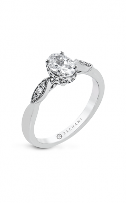 Zeghani The Under Halo Engagement ring Zr2333 product image