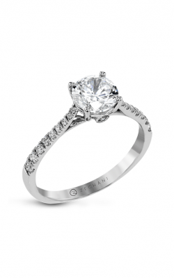 Zeghani Straight Engagement ring Zr23sper-0.25 product image
