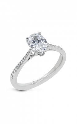 Zeghani Straight Engagement ring Zr31cher product image