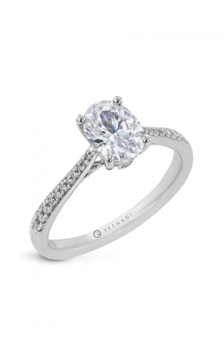 Zeghani Straight Engagement ring Zr31pver product image
