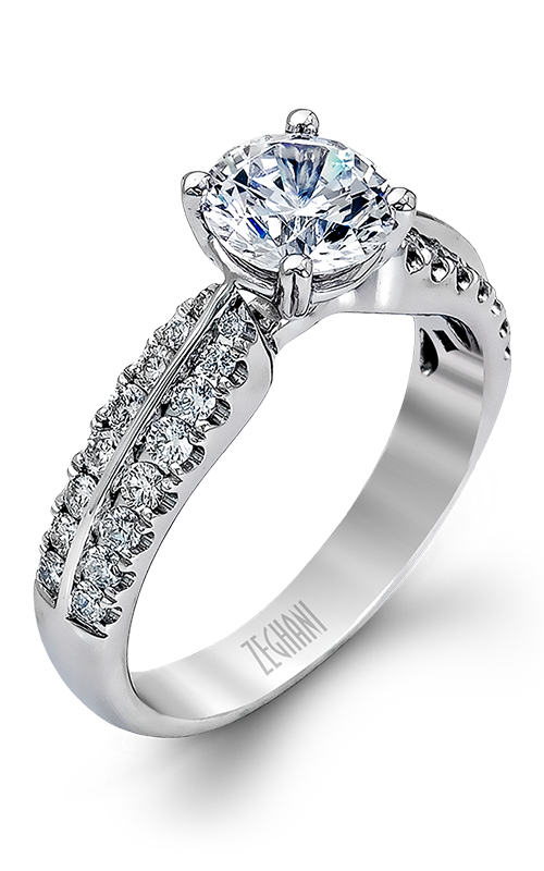Zeghani Blindingly Beautiful Engagement ring ZR322 product image
