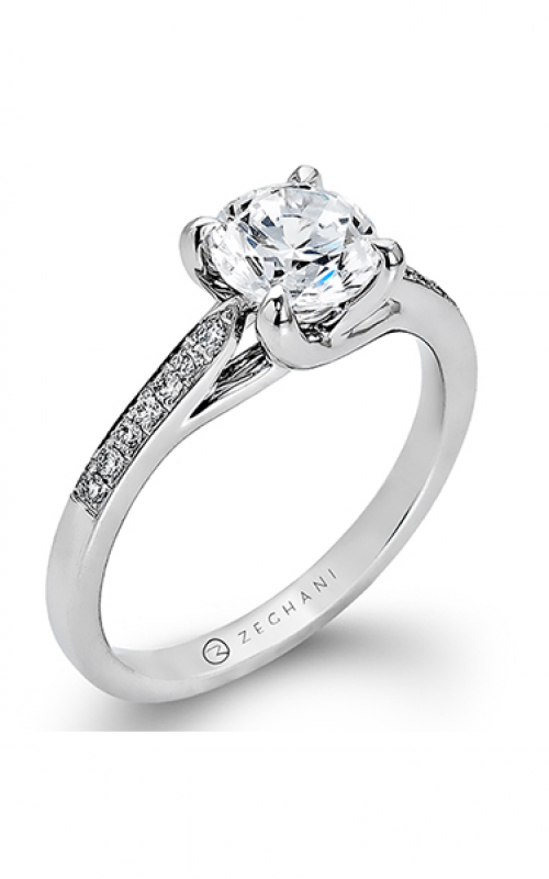 Zeghani Delicate Diva Engagement ring ZR561 product image