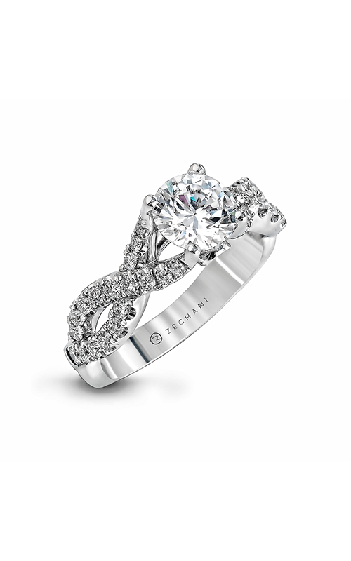 Zeghani Delicate Diva Engagement ring ZR670 product image