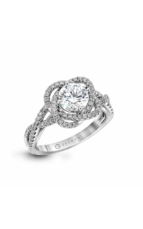 Zeghani Refined Rebel Engagement ring ZR744 product image