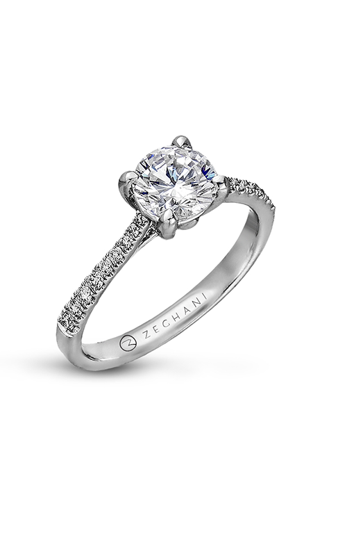 Zeghani Delicate Diva Engagement ring ZR752 product image