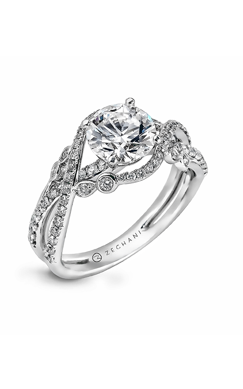 Zeghani Nature Lover Engagement ring ZR876 product image