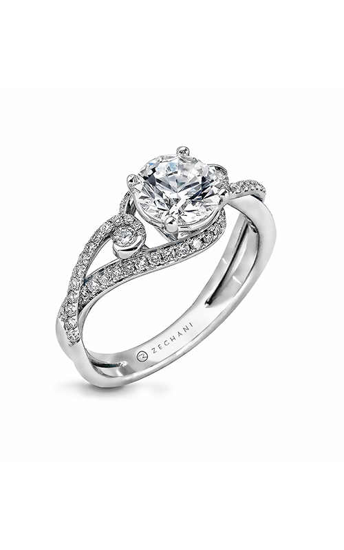 Zeghani Nature Lover Engagement ring ZR880 product image