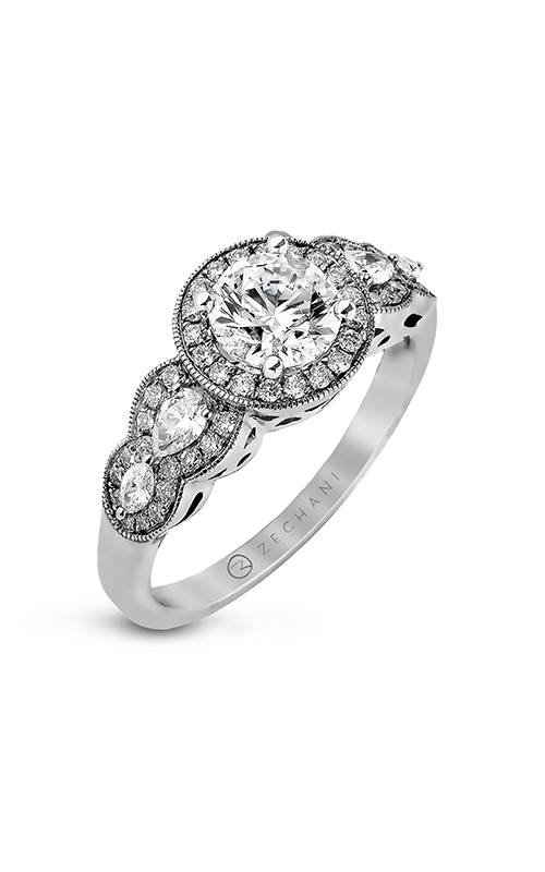 Zeghani Vintage Vixen Engagement ring ZR910 product image