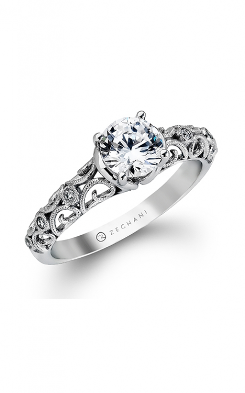 Zeghani Nature Lover Engagement ring ZR915 product image