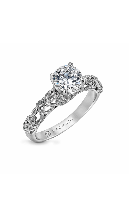 Zeghani Nature Lover Engagement ring ZR917 product image