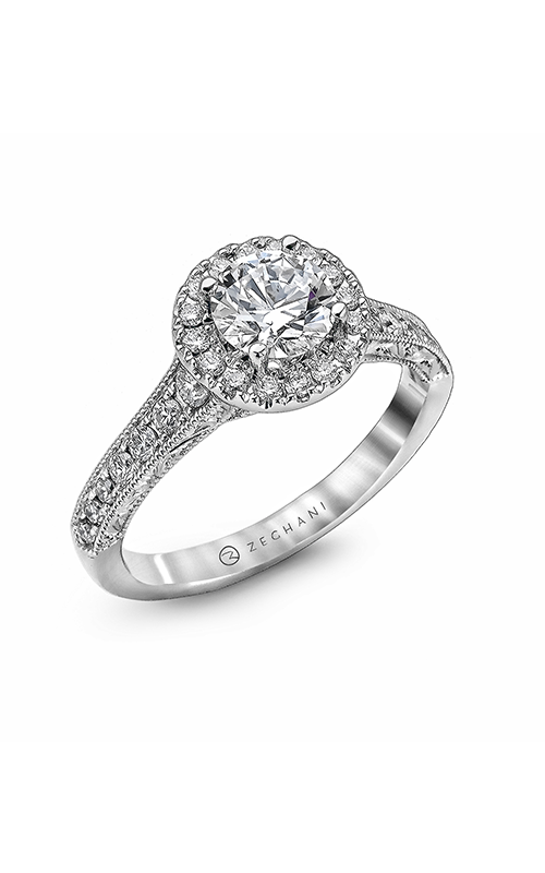 Zeghani Vintage Vixen Engagement ring ZR939 product image