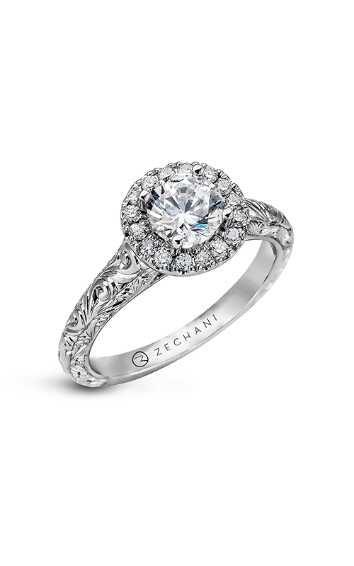 Zeghani Nature Lover Engagement ring ZR940 product image