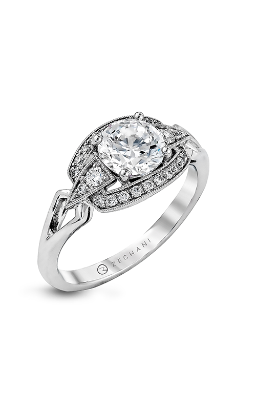 Zeghani Vintage Vixen Engagement ring ZR959 product image
