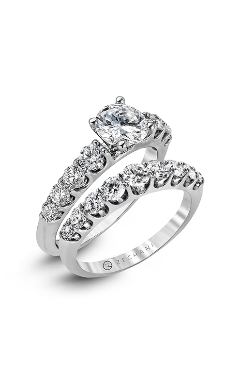 Zeghani Blindingly Beautiful Engagement ring ZR984 product image