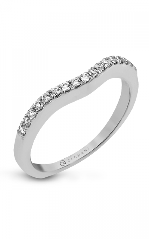 Zeghani Delicate Diva Wedding band ZR436 product image