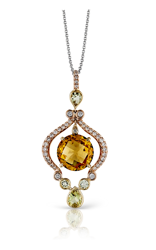Zeghani Refined Rebel Necklace ZP205 product image