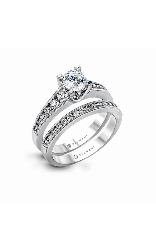 Zeghani Vintage Vixen Engagement ring ZR1034 product image