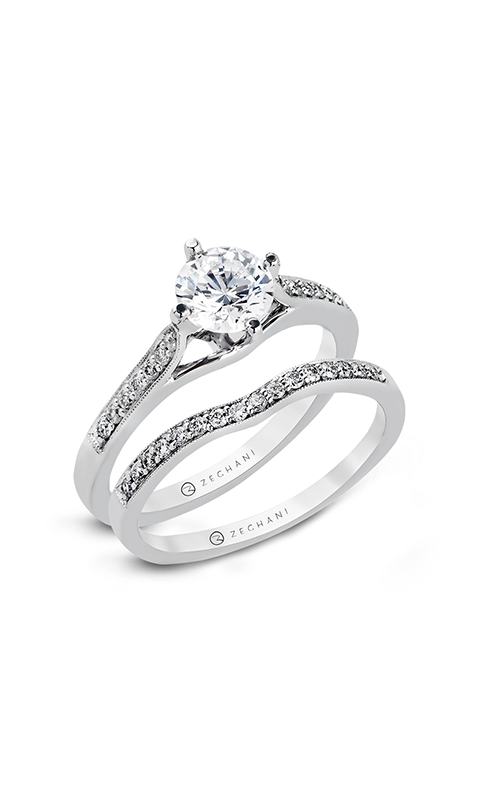 Zeghani ZR155 Engagement rings Thom Duma Fine Jewelers