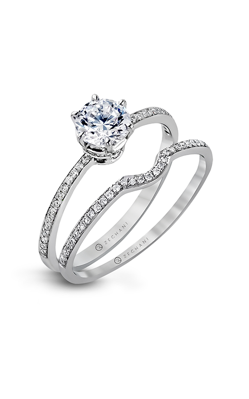 Zeghani Classic Beauty  Engagement ring ZR117 product image