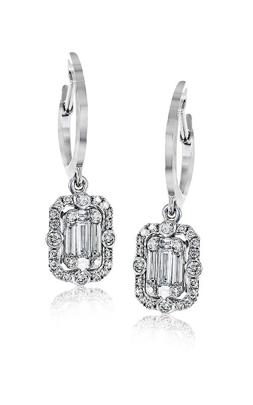 Zeghani Delicate Diva Earrings ZE535 product image