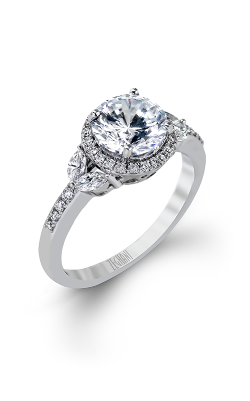 Zeghani Delicate Diva Engagement ring ZR909 product image