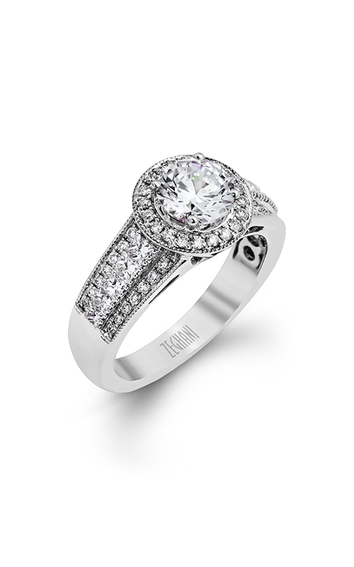 Zeghani Blindingly Beautiful Engagement ring ZR1134 product image