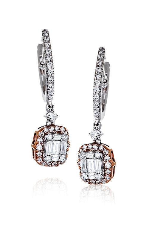 Zeghani Delicate Diva Earrings ZE540 product image