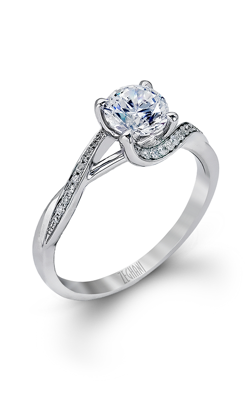 Zeghani Nature Lover Engagement ring ZR560 product image