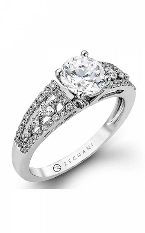 Zeghani Vintage Vixen Engagement ring ZR985 product image