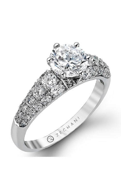 Zeghani Blindingly Beautiful Engagement ring ZR983 product image