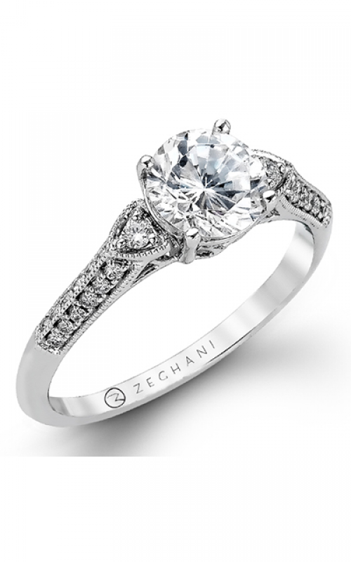 Zeghani Vintage Vixen Engagement ring ZR979 product image