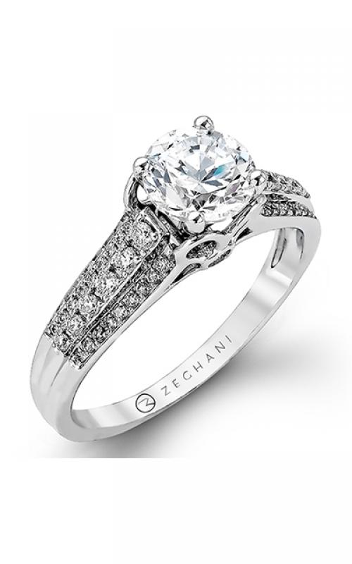 Zeghani Vintage Vixen Engagement ring ZR977 product image