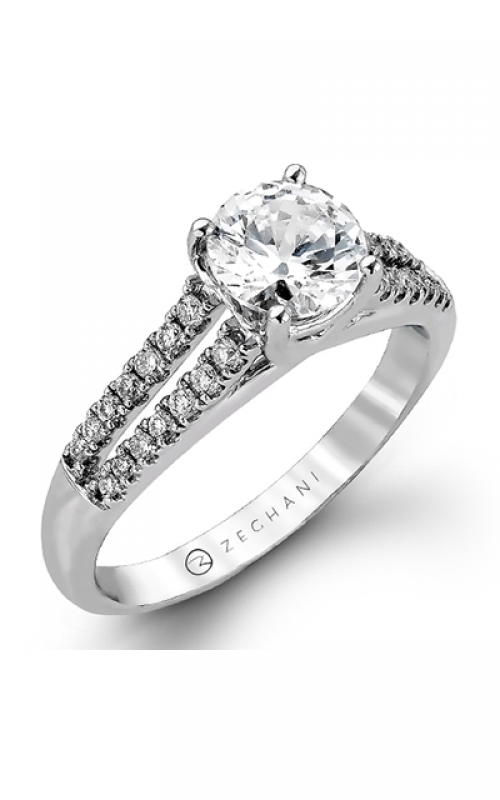Zeghani Delicate Diva Engagement ring ZR970 product image
