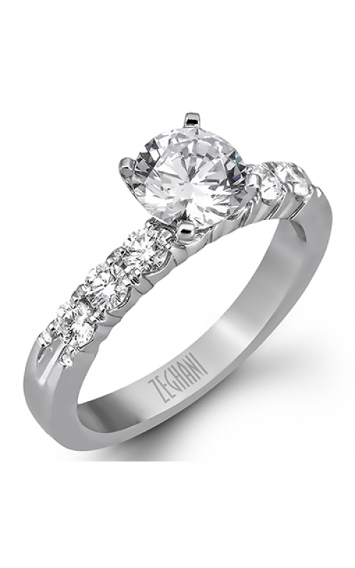 Zeghani Blindingly Beautiful Engagement ring ZR97 product image
