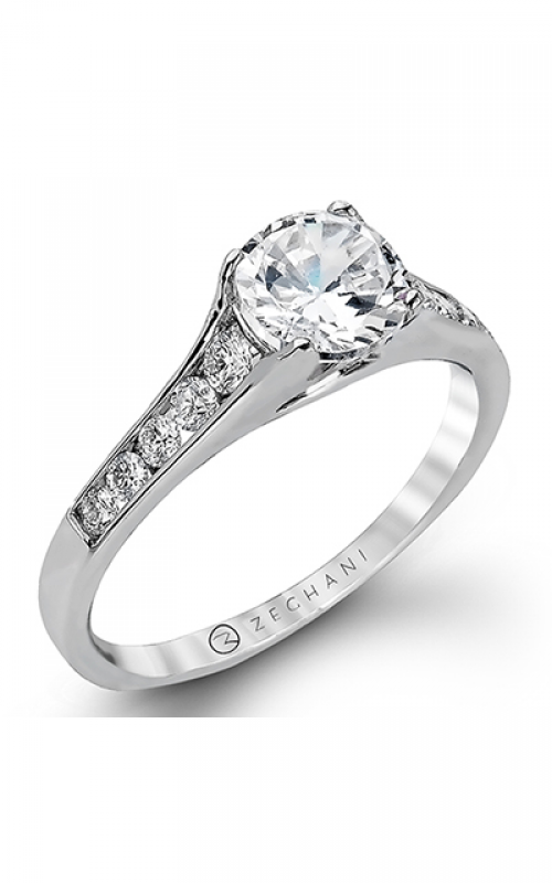 Zeghani Delicate Diva Engagement ring ZR969 product image