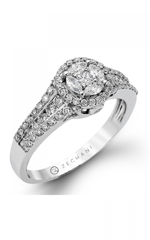 Zeghani Vintage Vixen Engagement ring ZR967 product image