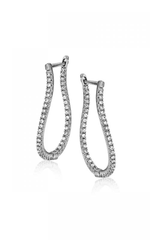 Zeghani Delicate Diva Earrings ZE207 product image